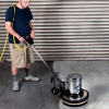 "EDIC Saturn™ Heavy Duty Floor Machines - 20"", Stainless steel brush cover"