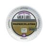 """AJM Round White Paper Plates - 6"""""""