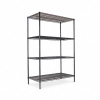 "Alera Wire Shelving Starter Kit - 4 Shelves, 48""W X 24""D X 72 ""H"