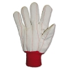 Anchor Heavy Canvas Gloves - White/Red