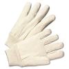 Anchor Light-Duty Canvas Gloves - White