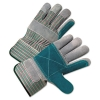 Anchor 2000 Series Leather Palm Gloves - Gray/Green/Red