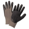 Anchor Anchor Brand® Nitrile Coated Gloves - Gray/Dark Gray, Large