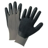 Anchor Anchor Brand® Nitrile Coated Gloves - Gray/Black, Small