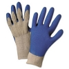 Anchor Anchor Brand® Latex Coated Gloves 6030 - Gray/Blue, Small