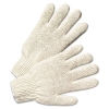 Anchor String Knit Gloves - Natural White