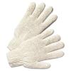 Anchor String Knit Gloves - Natural White