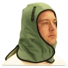 Anchor Extra Large Neck Flap Winter Liner, Twill - Light Green