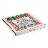 "Arvco Corrugated Pizza Boxes - Kraft/White, 8"" x 8"""