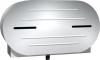 "ASI 9"" Surface Mounted Twin Jumbo Roll Toilet Tissue Dispenser - 20 13/16"" x 11 3/8"" x 6 3/16"""