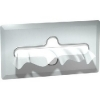 "ASI Recessed Satin Finish Facial Tissue Dispenser - 11 3/8"" x 5 1/8"" x 4 1/8"""
