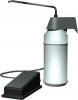 ASI Surface Mounted Foot Operated Soap Dispenser - 32 Oz.