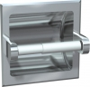 "ASI Recessed Toilet Paper Holder- Chrome PIated Zamak - 5 1/4"" x 5 1/4"" x 2"""