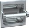 "ASI Recessed Toilet Paper Holder- Chrome PIated Zamak - 5 1/4"" x 5 1/4"" x 2"""