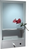 """ASI Recessed Cabinet With Shelf, Mirror, Paper Towel and Soap Dispenser - 15 3/4"""" x 29"""" x 4 1/4"""""""