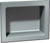 """ASI Recessed Soap Dish - Rear Mounted - 7 3/8"""" X 6"""""""