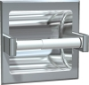 ASI Recessed Single Satin Toilet Paper Holder -