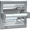 ASI Surface Mounted Single Satin Toilet Paper Holder -