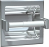 ASI Recessed Satin Toilet Paper Holder with Hood -