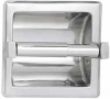 ASI Surface Mounted Single Satin Toilet Paper Holder With Hood -