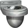 ASI Surface Mounted Ash Urn with Flip Top ashtray -