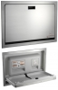 ASI Recessed Baby Changing Station Door, Flange & Cabinet - 34 1/4