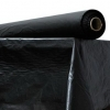 """Plastic Table Cover - 40"""" x 300 ft Roll, Black"""