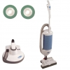 "Windsor Axcess 12"" Vacuum & Burnisher Kit - 2 Green pads"
