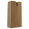PAPER BAGS & SACKS Heavy Duty Kraft Paper Bags - Brown, 8 lb.