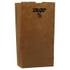 GEN Grocery 1# Paper Bags - 30-Pound Base Weight, Brown Kraft