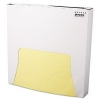 "Bagcraft Papercon® Grease-Resistant Paper Wrap/Liners - 12"" x 12"", Yellow"