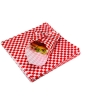 Bagcraft Grease-Resistant Red Check Sheets - 12 x 12