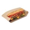 "Bagcraft Papercon® Dubl View® Sandwich Bags - Natural, 11 3/4"" W"