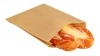 Bagcraft Grease-Resistant Sandwich, Hot Dog & Sub Bags - Natural