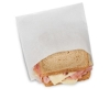 """Bagcraft Papercon® Dry Wax Sandwich/Pastry Bags - 6"""" x 3/4"""" x 6 1/2"""", White"""