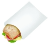 Bagcraft Grease-Resistant Sandwich, Hot Dog & Sub Bags - White