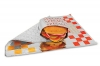 Bagcraft Papercon® Honeycomb Insulated Wrap - Red & Yellow Print