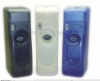 BIG D Battery Operated Programmable Aerosol Metered Dispenser - Transparent Blue