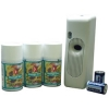 BIG D 6 Piece Metered Concentrated Room Deodorant Starter Kit - Smoke Odor Neutralizer
