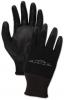 BOARDWALK PU Palm Coated Gloves - Black, Size 10 (x-Large), 1 Dozen