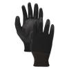 BOARDWALK PU Palm Coated Gloves - Black, Size 11 (2x-Large), 1 Dozen