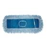 """BOARDWALK Dust Mop Head - COTTON/SYNTHETIC BLEND, 45"""" X 5"""", Blue"""