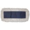 BOARDWALK Disposable Dust Mop Head - Cotton, Cut-End, 60w X 5d