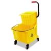 BOARDWALK Pro-Pac™ Side-Squeeze Wringer/Bucket Combo - 8.75 Gal, Yellow