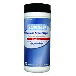 BOARDWALK Stainless Steel Wipes - 8 X 7