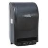 BOARDWALK Green Xtra Roll Towel Dispenser - Black