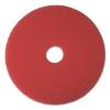 "BOARDWALK Standard 22"" Burnish/buffing Floor Pads - Red"