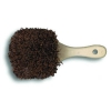 "BOARDWALK Palmyra Bristle Utility Brush - 8 1/2"", Tan Handle"