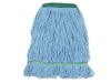 BOARDWALK Narrowband Looped-End Mop Heads - Medium, Blue