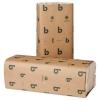 BOARDWALK Green Folded Towels - C-FOLD, White, 150/PK, 16 PACKS/Carton
